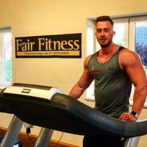 Christoph Fuchshofer aus Leoben (Fitnessmodel & Jungunternehmer)
